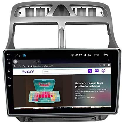 Android 10 Radio automático GPS Navegación del host IPS 2.5D Control de pantalla táctil SWC Bluetooth Estéreo Multimedia Player SAT NAV para PEUGEOT 307 2002-2013 Video Receptor