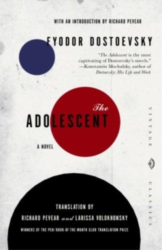 The Adolescent By Fyodor Dostoyevsky