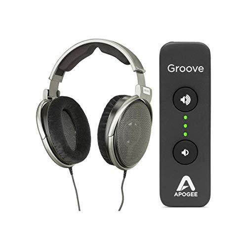 Adorama Sennheiser HD 650 Audiophile Dynamic Hi-Fi Stereo Headphone - Bundle with Apogee Electronics Groove Portable USB DAC and Headphone Amp