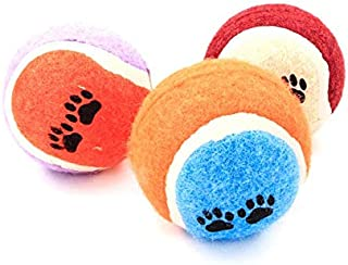 Tennis Balls for Dogs, Durable Toy Balls for Training Dog Plush Toy