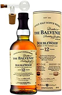 Balvenie 12 Jahre Single Malt Whisky 1 Glaskugelportionierer