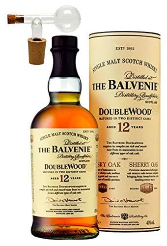Balvenie 12 Jahre Single Malt Whisky +1 Glaskugelportionierer