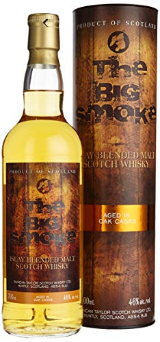 The Big Smoke Duncan Taylor Islay Blended Malt Scotch Whisky mit Geschenkverpackung (1 x 0.7 l)