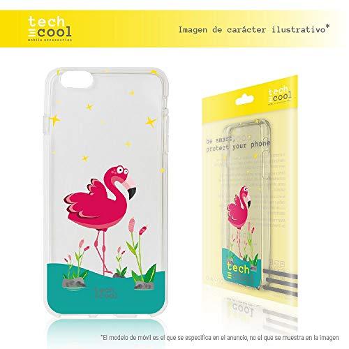 Funnytech/® Funda Silicona para iPod Touch 5//6 Gel Silicona Flexible, Dise/ño Exclusivo Primavera Mini-Margaritas Transparente