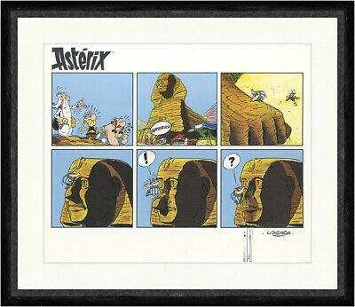 Kunstdruck In Ägypten Gallier Uderzo Asterix Obelix Plakat Faks_Plakatwelt 1038