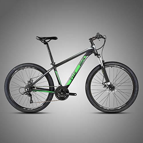 XXL Mountain Bike 24 velocità Bicicletta Biammortizzata 27.5 Pollici Alluminio Bcicletta da Montagna Freno a Doppio Disco per Uomini e Donne Adulti