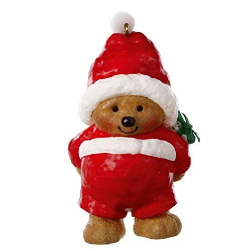 Hallmark Keepsake Christmas Ornament 2020, Mary Hamilton's Bears Ho-Ho-Holiday Santa Bear