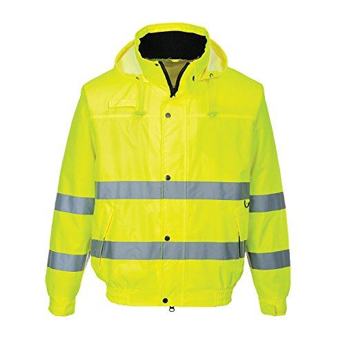 Arbeitsjacke Sicherheitsjacke Signalfarben Lite Bomberjacke Radioschlaufe S-XXXL (XL)
