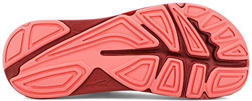 ALTRA Women's AL0A4VQY Paradigm 5 Road Running Shoe, Gray/Coral/Port - 9.5 M US