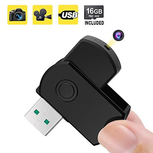 Microcamera Nascosta Chiavetta USB Spia Registratore...