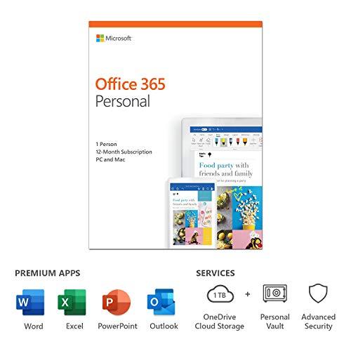 Microsoft Office 365 Personal 1 licenza/e 1 anno/i Inglese