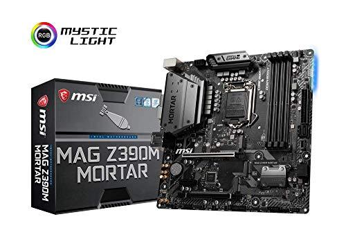 MSI MAG Z390M Mortar, LGA 1151 Mainboard (DDR4, 2X Turbo M.2, 5x USB 3.1, 3X Gen2 und 2X Gen1)