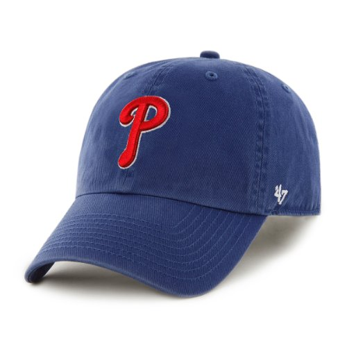 '47 MLB Philadelphia Phillies Herren Clean Up Cap, One Size, Royal
