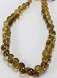 Jewel Beads Natural Beautiful jewellery Natural Bear Quartz Onion Shape AAA Quality 7.5-10 MM Size 8 Inch Strand BrioletteCode:- JBB-41408