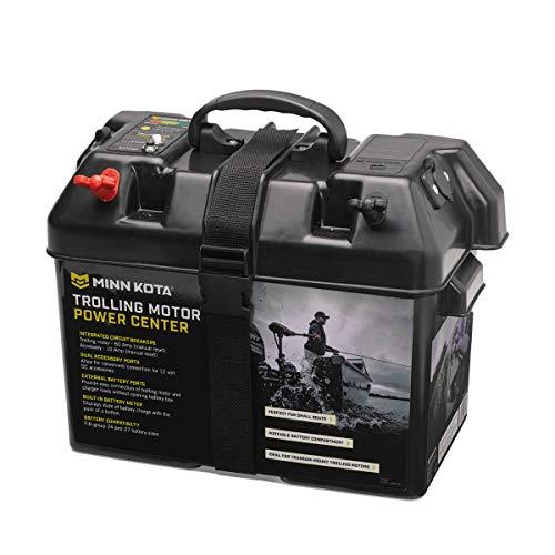 Minn Kota 1820175 Trolling Motor Battery Power Center, Black, One Size