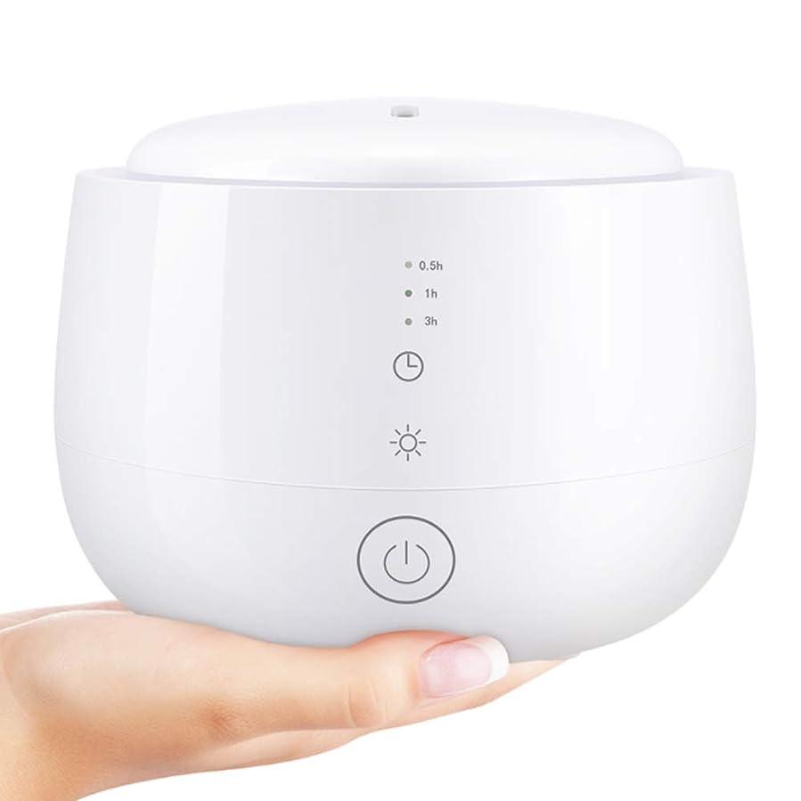 郵便局簡略化する許可する加湿器 - 空気加湿器フレグランスランプベッドルームミニ家庭用加湿器 (色 : 白)
