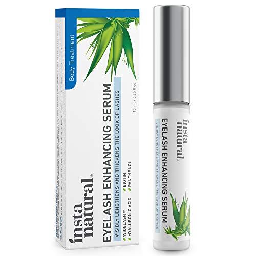 Eyelash & Eyebrow Growth Serum - Advanced Lash & Brow Enhancing Treatment for Thicker, Longer & Healthier Natural Lashes - Boost Volume & Strength - With Widelash, Biotin & Hyaluronic Acid - 10 mL