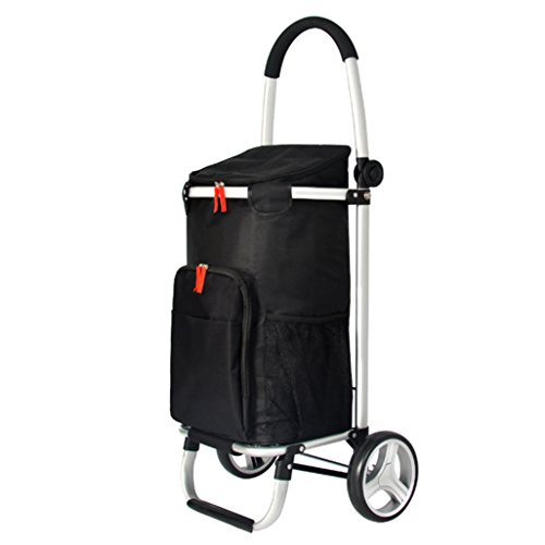 2 roues Pliable Shopping Trolley panier SUPER LIGHT Poids énorme Capacité de stockage