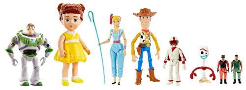 Disney Pixar Toy Story 4 pack Figuras Básicas Articuladas de 3 años en adelante
