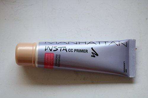 Manhattan Cosmetics INSTA Colour Correcting Primer, enhances radiance, n°020 Lavender, 30 ml.
