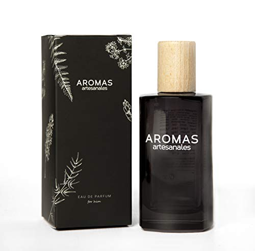 AROMAS ARTESANALES - Eau de Parfum Almonte | Perfume con vaporizador para hombres | Fragancia Masculina 100 ml | Distintos Aromas - Encuentra el tuyo Aquí