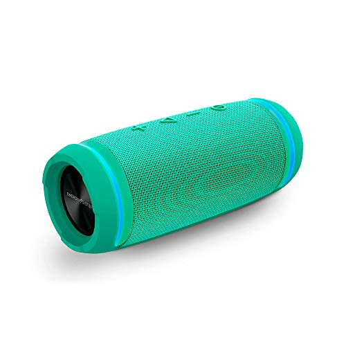 Energy Urban Box 4 BassTube Altavoz portátil con Sonido 360º, Bluetooth y Tecnología True Wireless (12 W, Resistente al Agua) - Jade