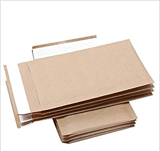 50pcs New Kraft Paper Bubble Mailer Shipping Envelopes with Bubble Self Seal Padded Envelopes Shockproof Shipping Envelope...