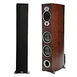 in budget affordable Floor stand speaker Polk Audio RTI A7 (single, cherry)