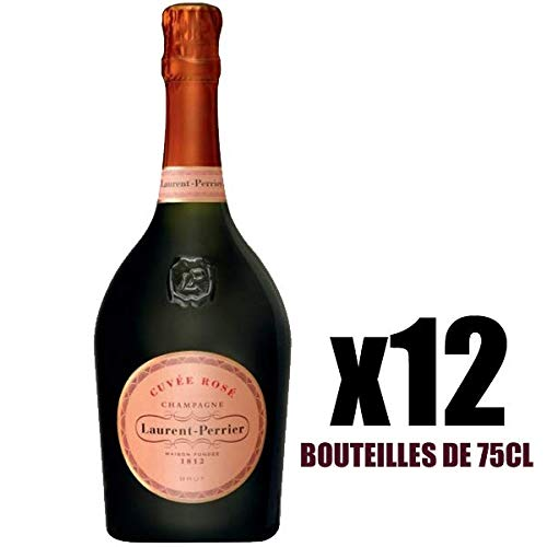 X12 Champagne Brut Rosé 75 cl Laurent-Perrier AOC Champagne