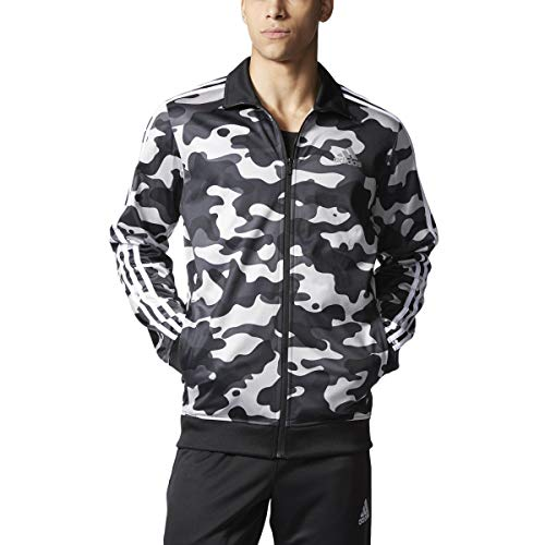 adidas mens Condivo 18 Polyester Jacket (Camo / Black / White, Small)