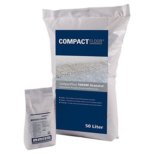 CompactFloor THERM CE, Gebundene Schüttung, 50 Liter, 2-4 mm Blähglas, zementgebunden