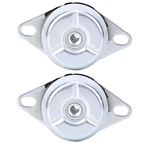 PBOHUZ Amortiguador de Golpes 2 uds Amortiguador de Golpes FRH en Forma de Campana para generador diésel de Coche Amortiguador de Goma de Rosca M10