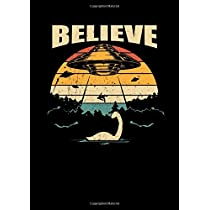 Notebook: Nessie Ufo Conspiracy Theory Loch Ness Gift 120 Pages, A4 (About 8,5X11 Inches / Letter), Lined / Ruled, Diary