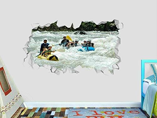 Pegatinas De Pared Canoe River Dispute Wall Art Stickers Mural Calcomanía 20x27inch(50x70cm)