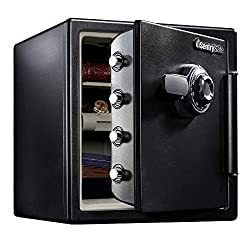SentrySafe SFW123ES Fireproof Waterproof Safe Review