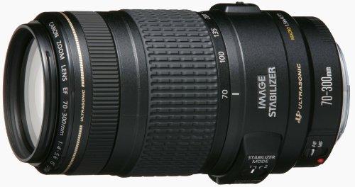 望遠ズームレンズ Canon EF70-300mm F4-5.6 IS USM フルサイズ対応