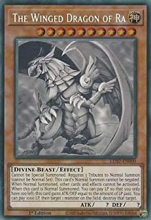 Yu-Gi-Oh! - The Winged Dragon of Ra - LED7-EN000 1st Edition - Ghost Rare