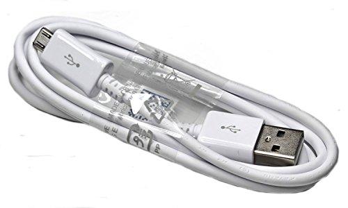 Cavo dati USB originale Samsung - cavo di ricarica per telefoni cellulari Samsung compatibili, con USB micro (confezione sfusa, senza confezione esterna).