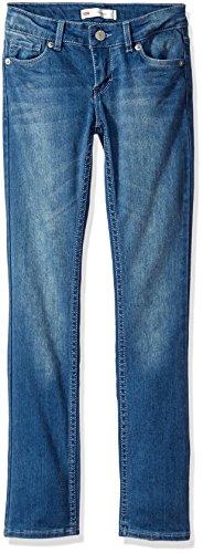 Levi's Girls' 711 Skinny Fit Jeans , Blue Winds, 10