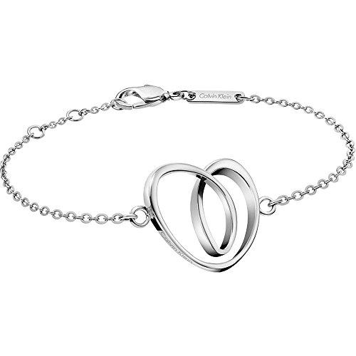 Calvin Klein Damen-Handketten Edelstahl KJ5AMB000100