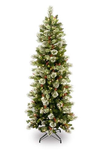 Simple Slim Christmas Tree Decorating Ideas