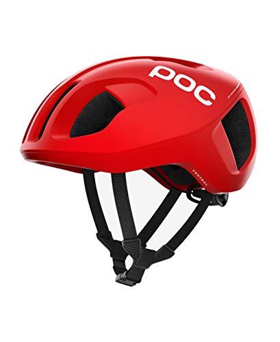 POC Octal, Helmet Unisex – Adulto, Prismane Red, 56/62 Grande