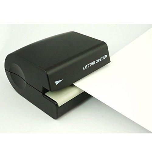 プラスレターオープナーブラック電池式OL-00135-131