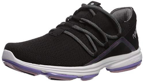 Ryka Women's Devotion Flex Walking Shoe, Black, 8.5 M US