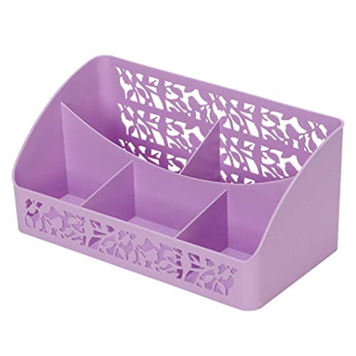 BOX Cosmétiques Boîte de Rangement En Plastique Simple Bureau Rouge À Lèvres Bijoux Soins de La Peau Produits de Stockage D'Affichage Boîte,Violet