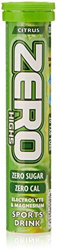 High5 zero citrus flavoured, 20 tabs per tube - Producto de cuidado personal para ciclistas, color verde, talla 14 cm