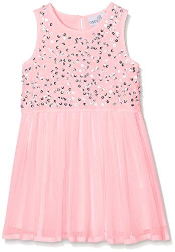 Eisend Mädchen Hailey Kleid, Rosa (Light Pink 38), 140