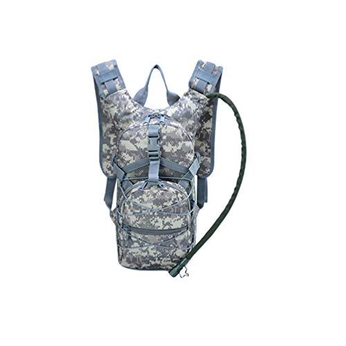Xegood Hydration Pack Water Backpack Pouch with 3L Water Bladder Tactical Camouflage Bag for Biking Hiking Climbing Hunting Running Cycling Camping Outdoor Sport Activities