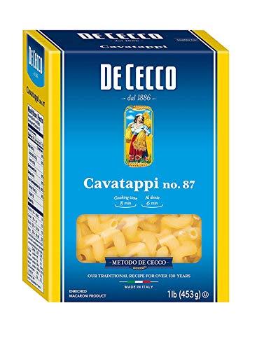 De Cecco Semolina, Cavatappi No.87, 0,5 kg (confezione da 1)