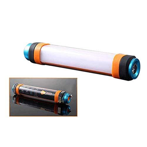 Super helle Dimmable LED kampierende Taschenlampe (Lagerung), 6 Beleuchtungs-Modi USB-nachladbare Suspendierung und magnetische wasserdichte Taschenlampe, Multifunktionslicht-Lager-Licht im Freien
